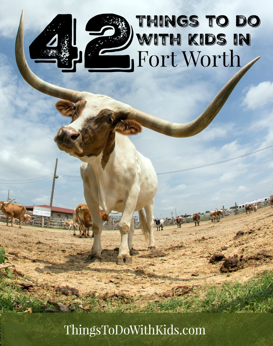 42 things to do with kids in fort worth texas